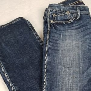 EXPRESS Barely Boot Jeans size 4